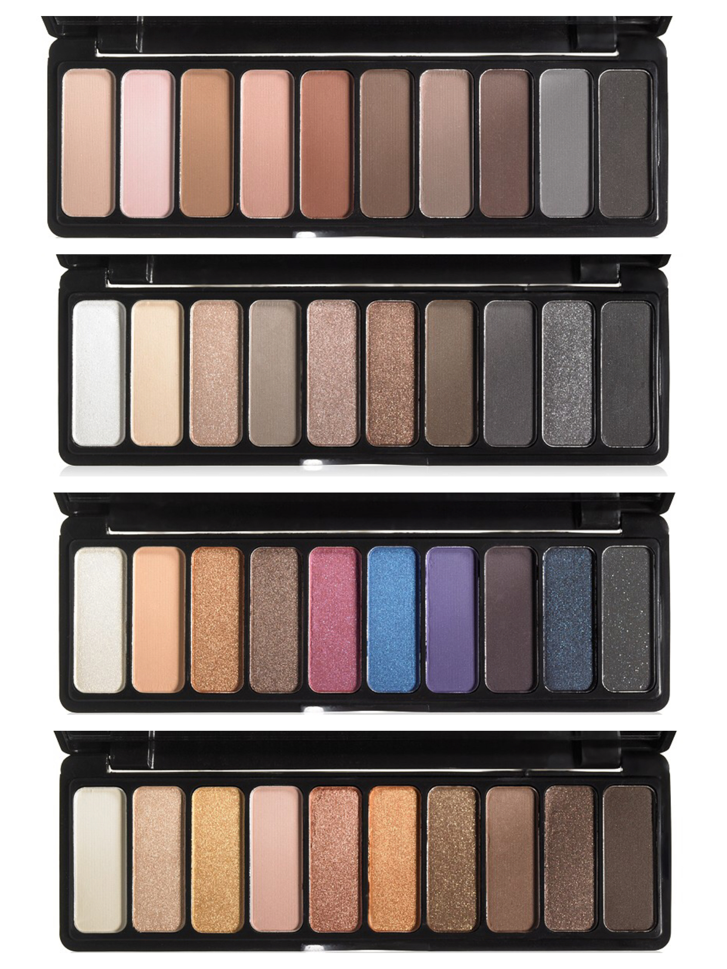 Eyeshadow Palette: New E.l.f. Eyeshadow Palettes! Plus, Mad For Matte Review